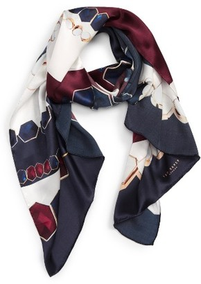 Women's Ted Baker London Rowing Stripe Silk Scarf $129 thestylecure.com