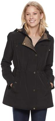 Gallery Women's Hooded Button Out Anorak Jacket