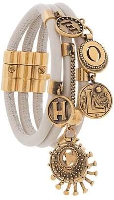 Chloé gold-tone embellished bracelet