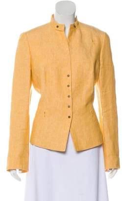 Akris Punto Lightweight Linen Jacket