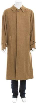 Paul Stuart Camel Hair Car Coat