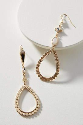 Anthropologie Monique Asymmetrical Drop Earrings