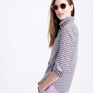 Boy shirt in mini gingham $78 thestylecure.com