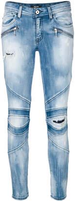 Just Cavalli skinny biker jeans