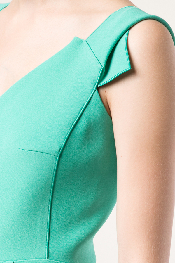 Roland Mouret Phoenix Cap Sleeve Gown
