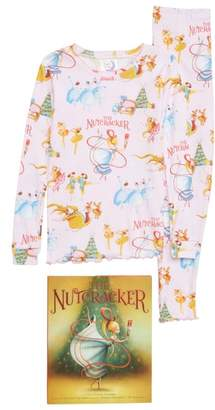 Books to Bed The Nutcracker Fitted Two-Piece Pajamas & Book Set