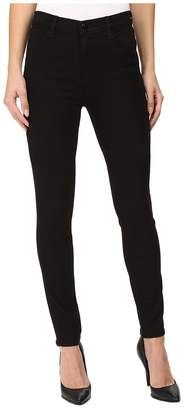 J Brand Maria High-Rise Skinny in Seriously Black Women's Jeans