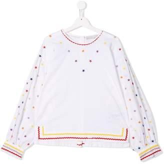 Stella McCartney TEEN embroidered blouse