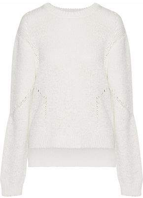 Dagmar House Of Bel Open-Knit Cotton-Blend Sweater