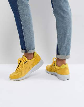 Asics Gel Trainers In Yellow