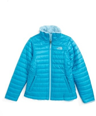 Girl's The North Face Mossbud Reversible Heatseeker(TM) Wind Resistant Jacket $110 thestylecure.com
