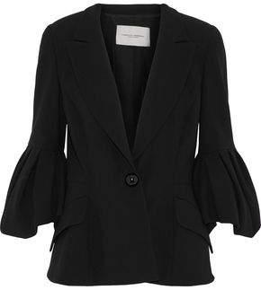Carolina Herrera Wool And Cotton-Blend Blazer