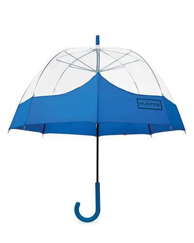 Hunter Hunter Boot Original Mustache Bubble Umbrella, Azure