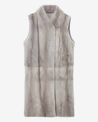 N.Peal Mink Fur Front Gilet