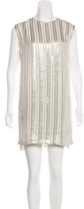 Rebecca Minkoff Metallic Accent Mini Dress w/ Tags