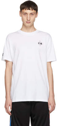 Marcelo Burlon County of Milan White Fly Tattoo T-Shirt