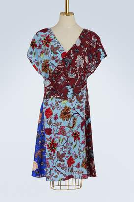 Diane von Furstenberg Draped silk dress