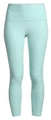 Beyond Yoga Space-Dye High-Waist Capri Leggings