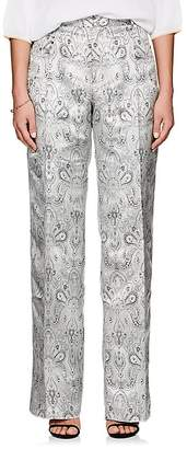 Y/Project Women's Paisley Jacquard Pleated Trousers