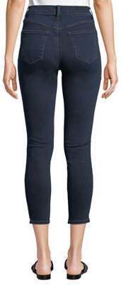 J Brand Jeans Alana Bleached High-Rise Skinny Ankle Jeans