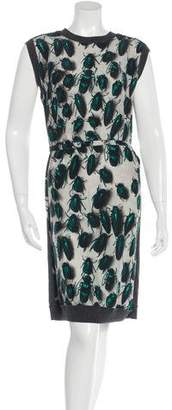 Lanvin Beetle Print Dress