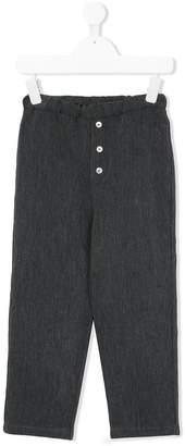 La Bottega Di Giorgia textured tapered trousers
