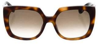 Etro Square Tortoiseshell Sunglasses