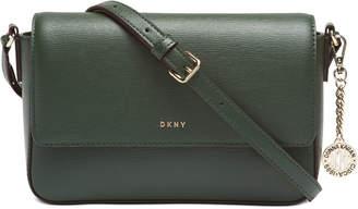 DKNY Sutton Leather Bryant Flap Crossbody