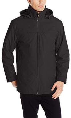 Weatherproof Vintage Men's Ultra-Tech Coat With Quilted Lining