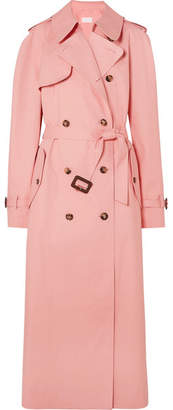 Maison Margiela Mackintosh Belted Cotton Trench Coat - Pink