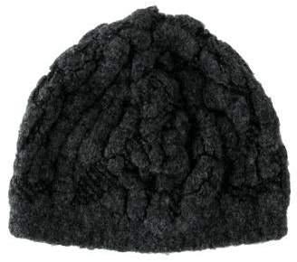 46f5bf6feebef Balenciaga Virgin Wool Twisted Beanie