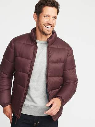 Old Navy Nylon Frost-Free Puffer Jacket for Men