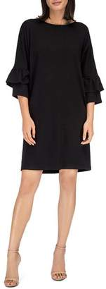Bobeau B Collection by Idalia Tiered Bell Sleeve Dress