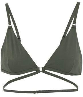 Alexander Wang Cutout Strap-Detailed Triangle Bikini Top