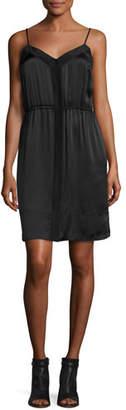 ATM Anthony Thomas Melillo Silk Camisole Dress, Black