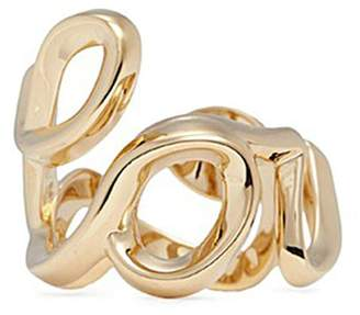 Chloé 'Love' cursive writing ring