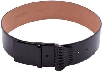 Giorgio Armani Patent leather belt