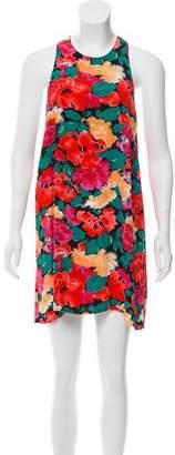 Reformation Floral Sleeveless Dress