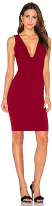 Alice + Olivia Esmra Fitted V Neck Dress $294 thestylecure.com