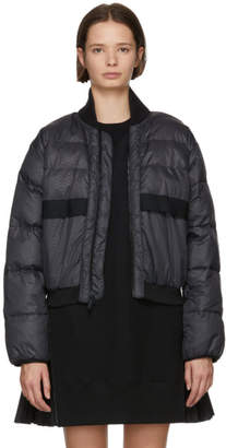 adidas by Stella McCartney Black Short Padded Jacket