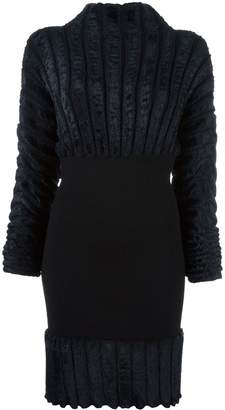 Alaia Pre-Owned ribbed fitted dress