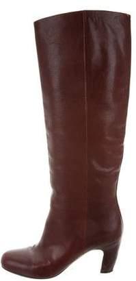 Maison Margiela Distressed Knee-High Boots