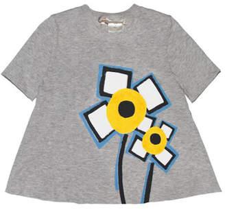 Marni Short Sleeve Flower T-shirt