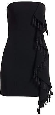 Cinq à Sept Women's Nat Tassel & Ruffle Mini Dress - Size 0