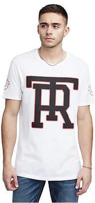 True Religion TR MONOGRAM ELONGATED TEE