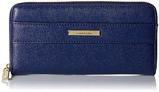 Anne Klein Shimmer Down II Small Zip Around Wallet $32.66 thestylecure.com