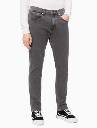 Calvin Klein modern taper copenhagen grey jeans