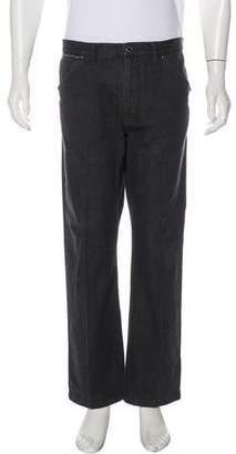 Louis Vuitton Five-Pocket Straight-Leg Jeans