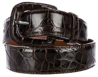 Vestimenta Alligator Buckle Belt