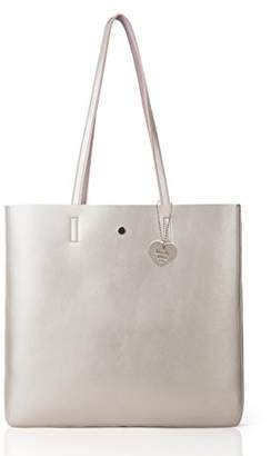 Co The Lovely Tote Women's Metallic Top Handle Tote Shoulder Bag ()